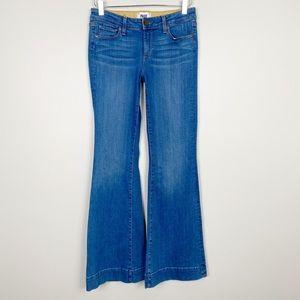 PAIGE Fiona Petite Flare Jeans 28 New Harrison